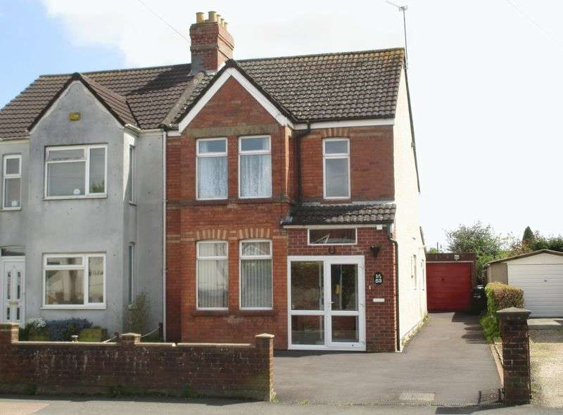 3 Bedrooms Semi Detached House for sale in West Coker Road, Yeovil
