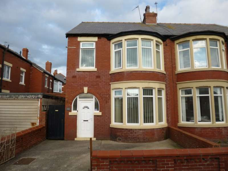 3 Bedrooms Semi Detached House for sale in Holmfield Road, Blackpool