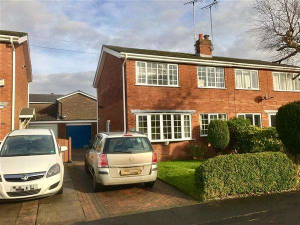 3 Bedrooms Semi Detached House for sale in St. Austell Avenue, Macclesfield