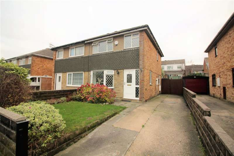 3 Bedrooms Semi Detached House for sale in Grasmere Drive, Lower Edge, Elland