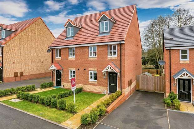 3 Bedrooms Semi Detached House for sale in 23 The Horseshoes, Newport, Shropshire