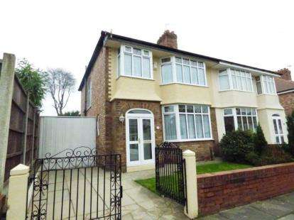 3 Bedrooms Semi Detached House for sale in Elmar Road, Liverpool, Merseyside, Uk, L17