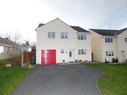 4 Bedrooms Detached House for sale in Cefn Dyffryn, Groeslon, Caernarfon, Gwynedd, LL54