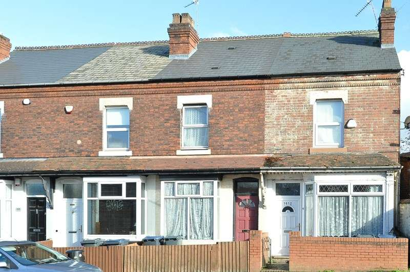 2 Bedrooms Terraced House for sale in Pershore Road, Stirchley, Birmingham