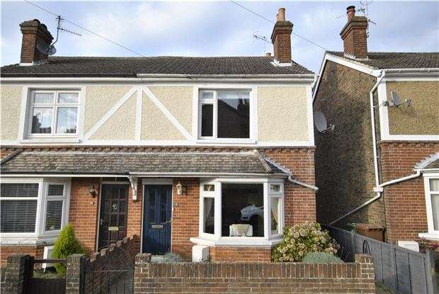 3 Bedrooms Semi Detached House for sale in First Street, Langton Green, TN3 0EU