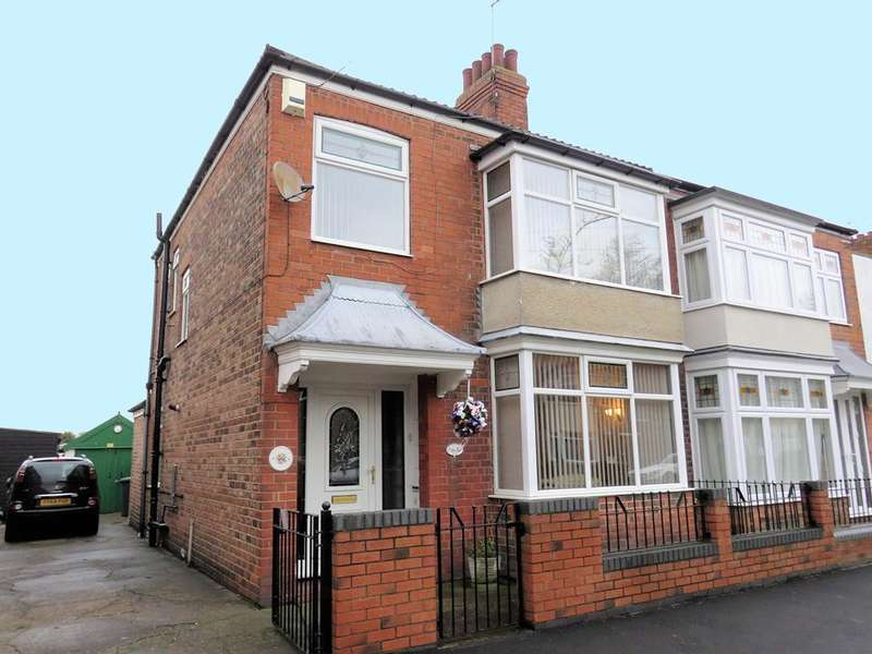 3 Bedrooms House for sale in Goddard Avenue, HULL, HU5 2BY