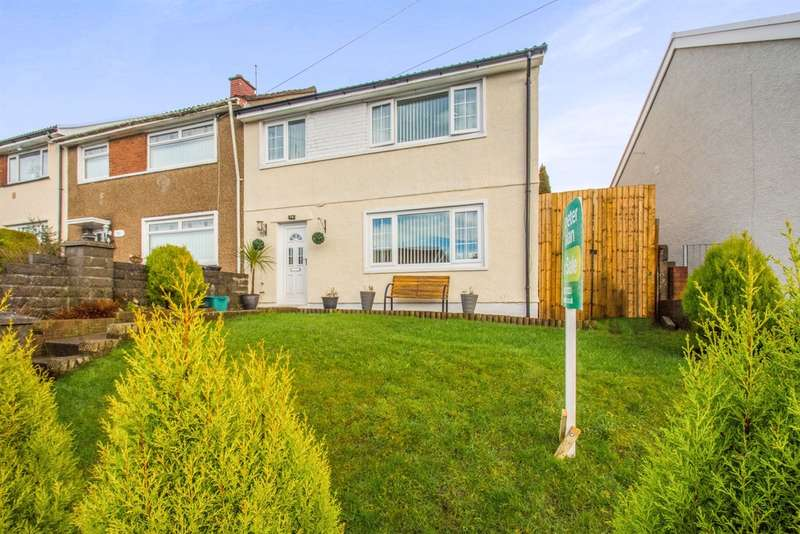 3 Bedrooms Semi Detached House for sale in Ash Crescent, Merthyr Tydfil