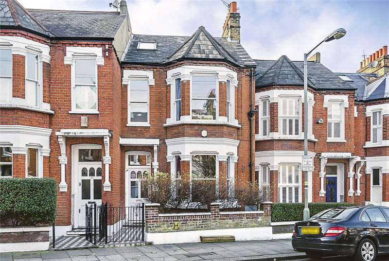 4 Bedrooms Terraced House for sale in Jedburgh Street, London, SW11