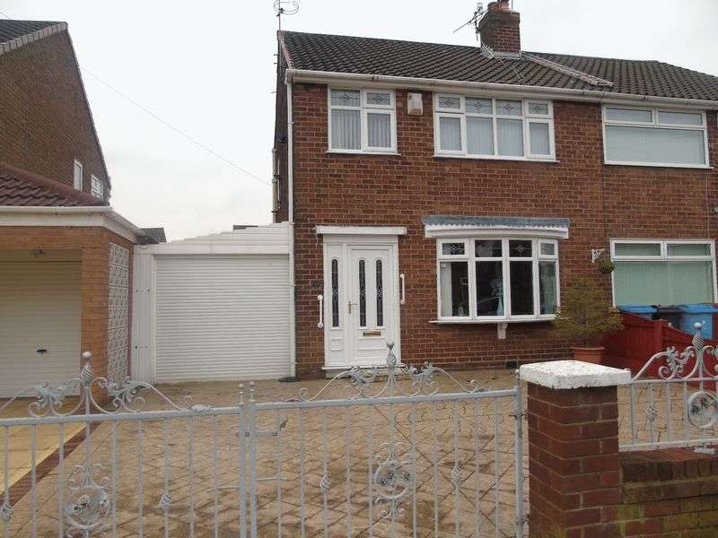 3 Bedrooms Semi Detached House for sale in Vining Road, Prescot
