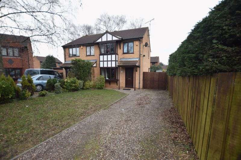 3 Bedrooms Semi Detached House for sale in Wedgewood Close, Lincoln