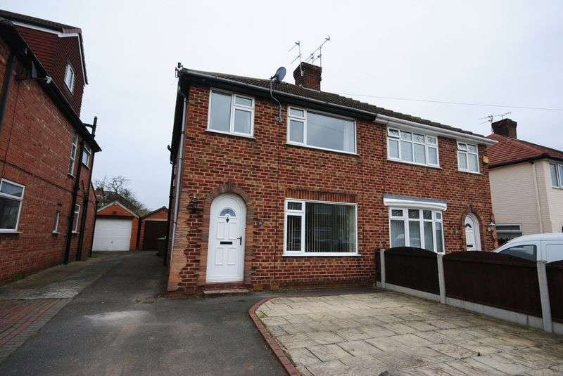 3 Bedrooms Semi Detached House for sale in Girtrell Road, Saughall Massie
