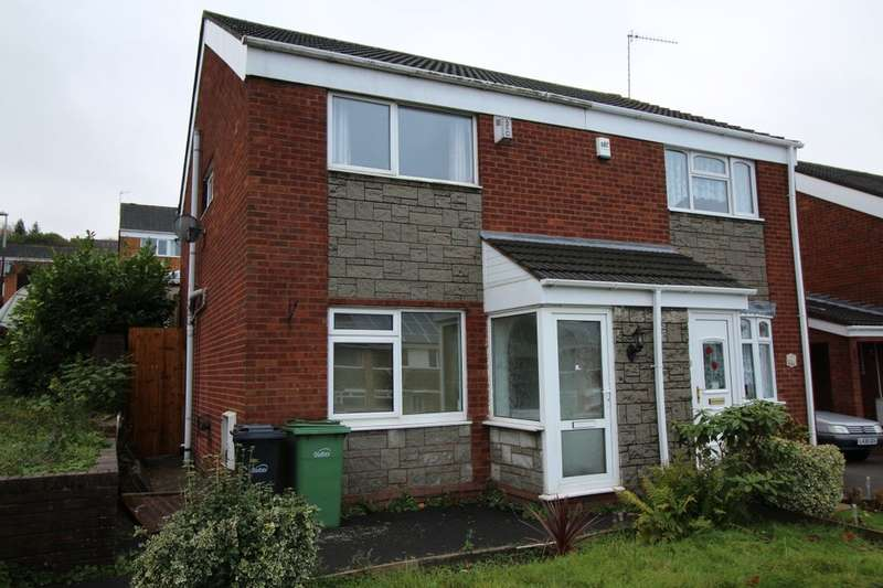 3 Bedrooms Semi Detached House for sale in Lyde Green, Halesowen, B63