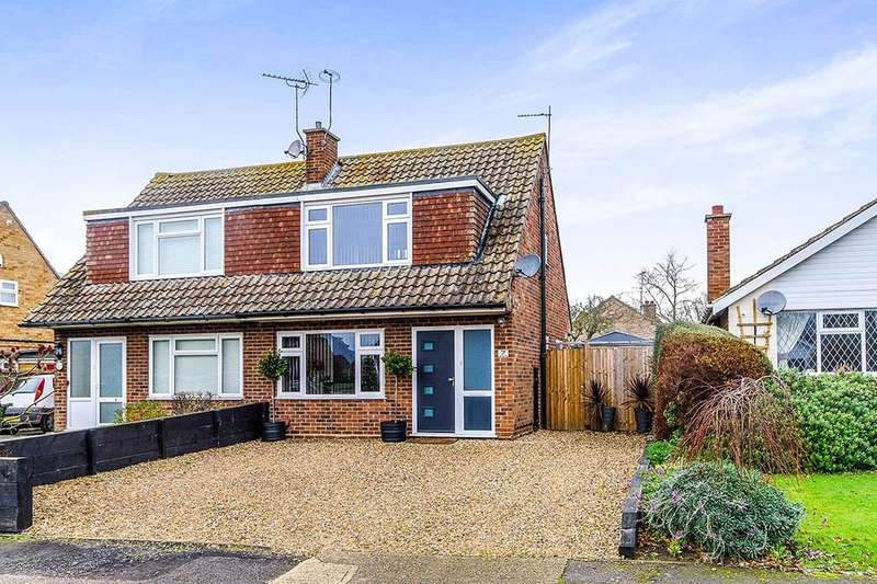 3 Bedrooms Semi Detached House for sale in Hunters Chase, Herne Bay, CT6