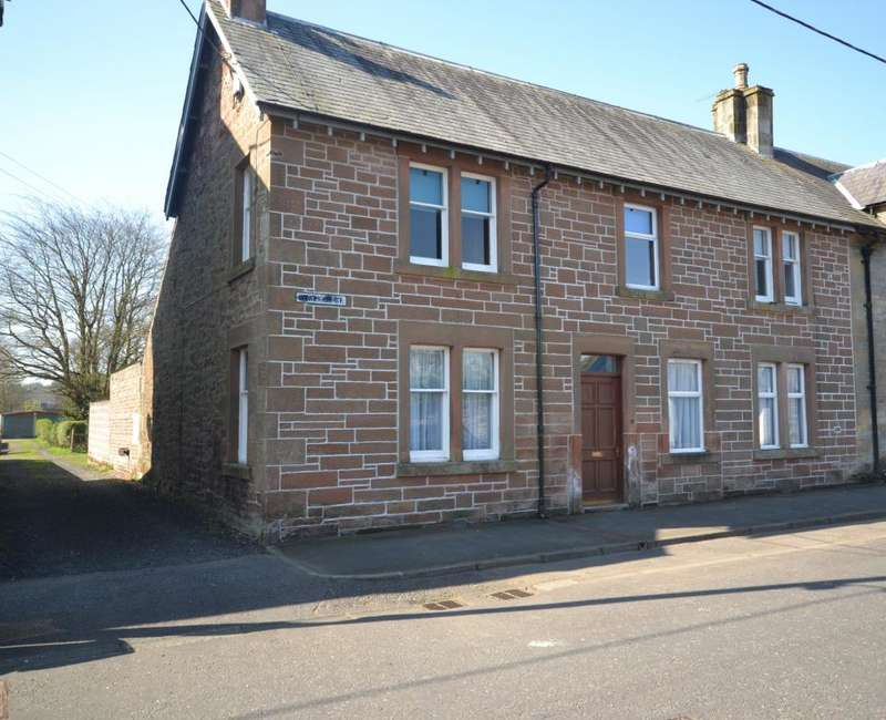 4 Bedrooms Semi Detached House for sale in 1, Langholm Street Newcastleton, TD9 0QX