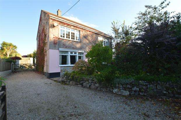 4 Bedrooms Detached House for sale in Townshend, Hayle, Cornwall