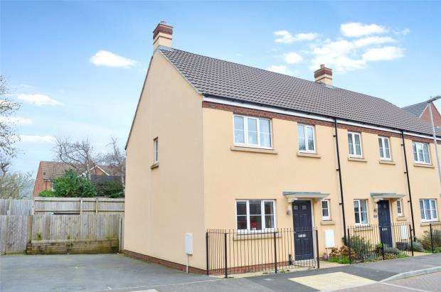 3 Bedrooms Semi Detached House for sale in Grove Gate, Staplegrove, Taunton, Somerset