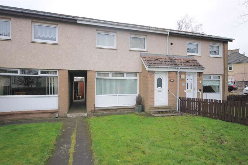 2 Bedrooms Terraced House for sale in Carfin Road, Motherwell