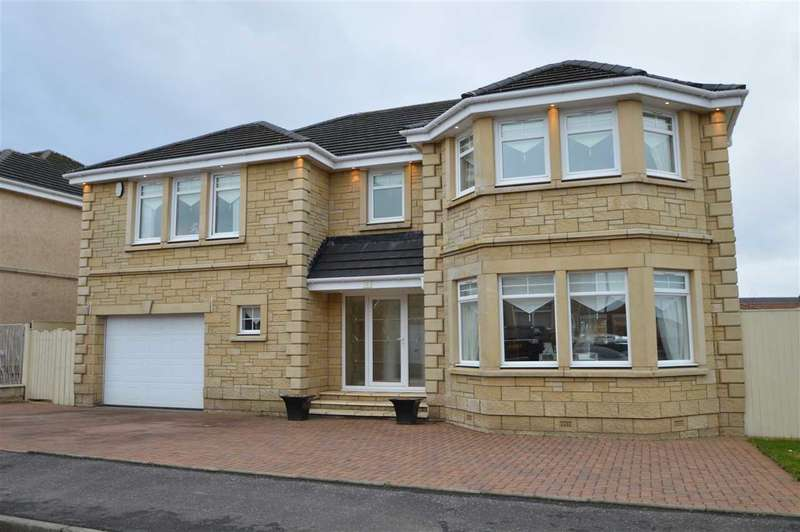 5 Bedrooms Detached House for sale in Andrew Baxter Avenue, Ashgill, Larkhall