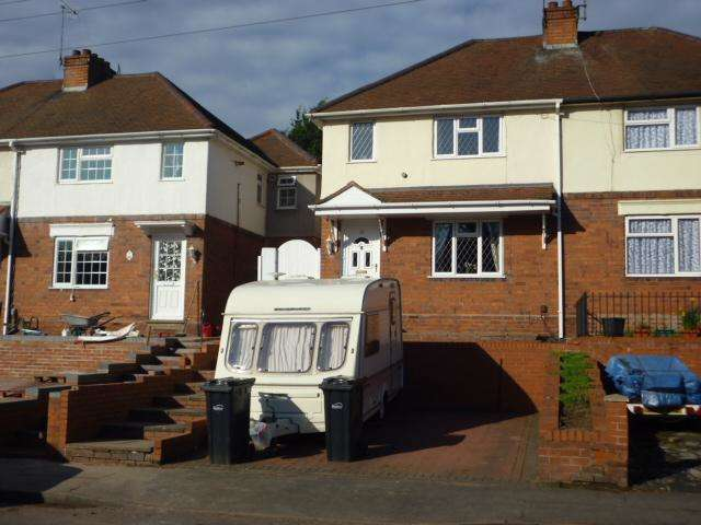 2 Bedrooms Semi Detached House for sale in KINVER STREET, WORDSLEY, STOURBRIDGE DY8