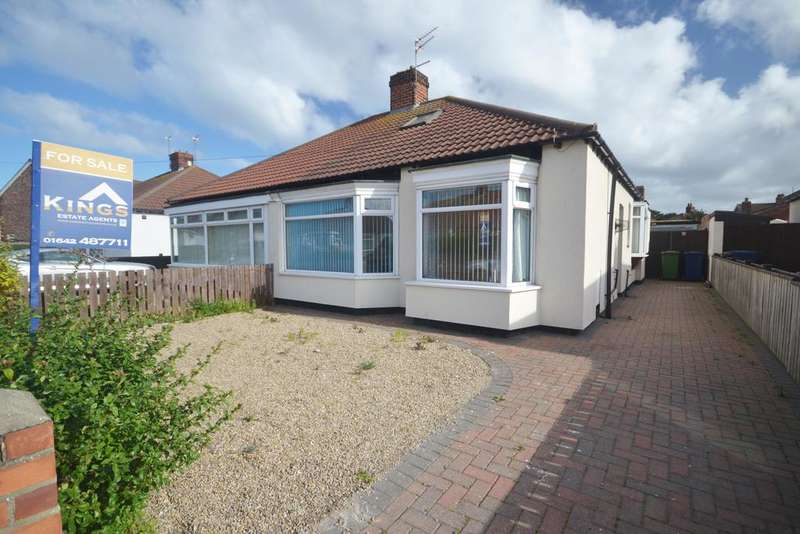 2 Bedrooms Semi Detached Bungalow for sale in Lilac Grove, Redcar TS10