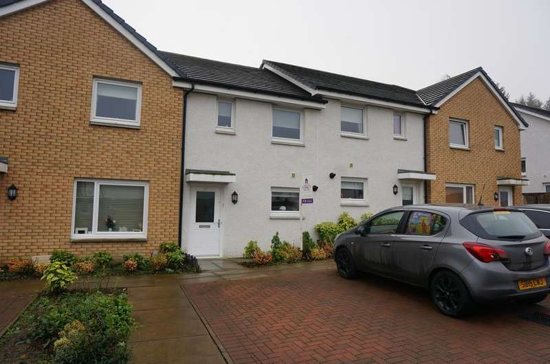 2 Bedrooms Terraced House for sale in Bluebell Walk, The Village, Cumbernauld G67
