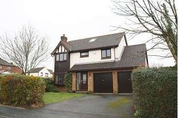 5 Bedrooms Detached House for sale in Meadowlands, Woolwell, Plymouth