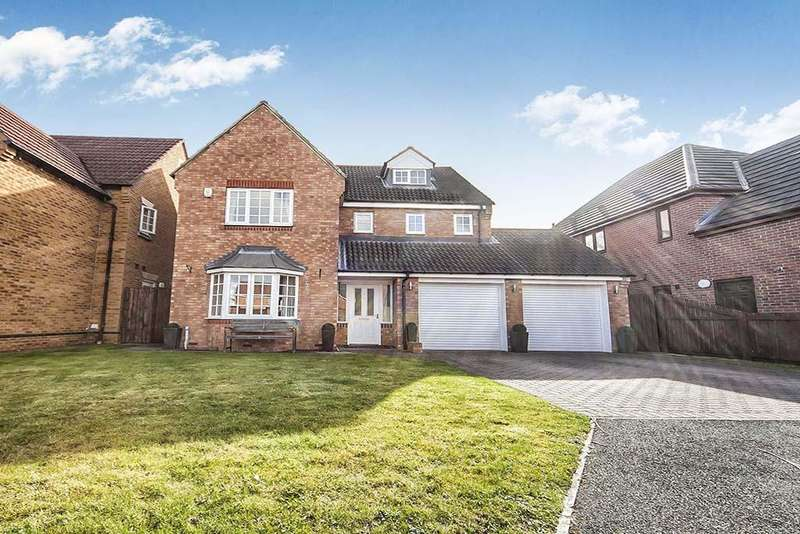 5 Bedrooms Detached House for sale in Lavendon Close, Cramlington, Northumberland NE23