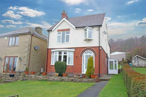 4 Bedrooms Detached House for sale in Yew Tree Hill, Holloway, Matlock, Derbyshire