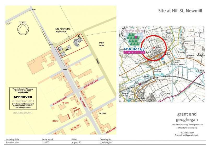 Plot Commercial for sale in Hill Street, Newmill, Keith, Aberdeenshire, AB55 6TY