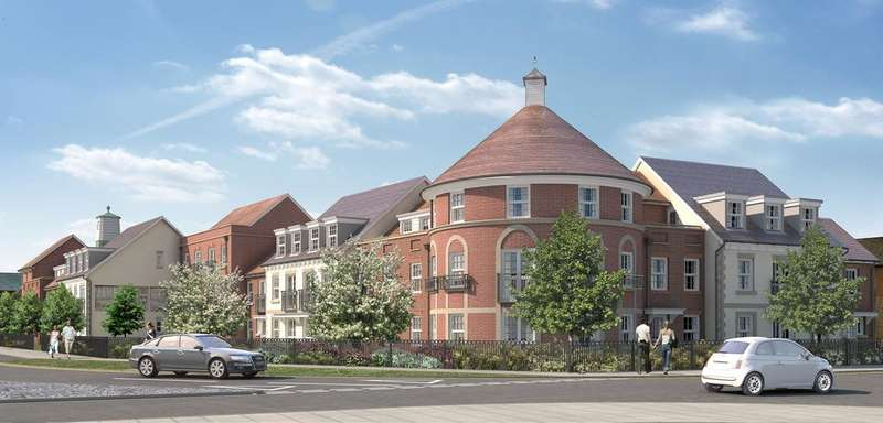 2 Bedrooms Apartment Flat for sale in Hawthorn Lodge, Longbridge, FARNHAM GU9