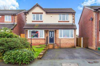 4 Bedrooms Detached House for sale in Clayton Way, Fernhurst Farm, Blackburn, Lancashire, BB2