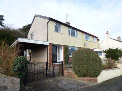 3 Bedrooms Semi Detached House for sale in Ty Gwyn Gardens, Conwy, North Wales, LL32