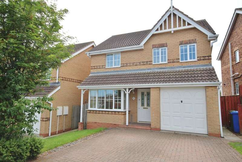 4 Bedrooms Detached House for sale in 47 Fairfields, Alnwick, Northumberland NE66