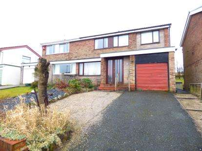 4 Bedrooms Semi Detached House for sale in Fairways Drive, Burnley, Lancashire