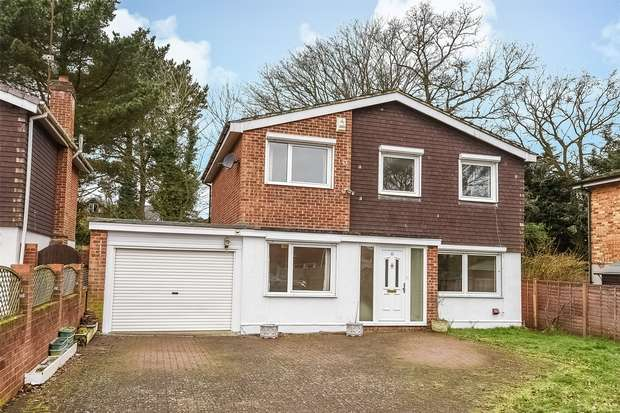 4 Bedrooms Detached House for sale in Alderbrook Close, CROWTHORNE, Berkshire