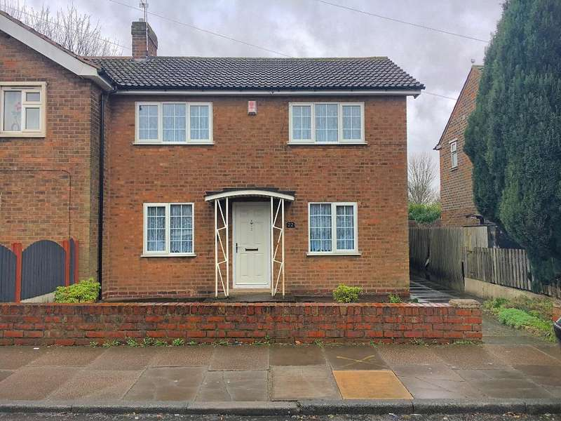 3 Bedrooms Semi Detached House for sale in WILFORD ROAD, WEST BROMWICH, WEST MIDLANDS, B71 1QN