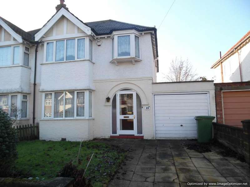 4 Bedrooms Semi Detached House for sale in Ash Road, Sutton, sutton SM3