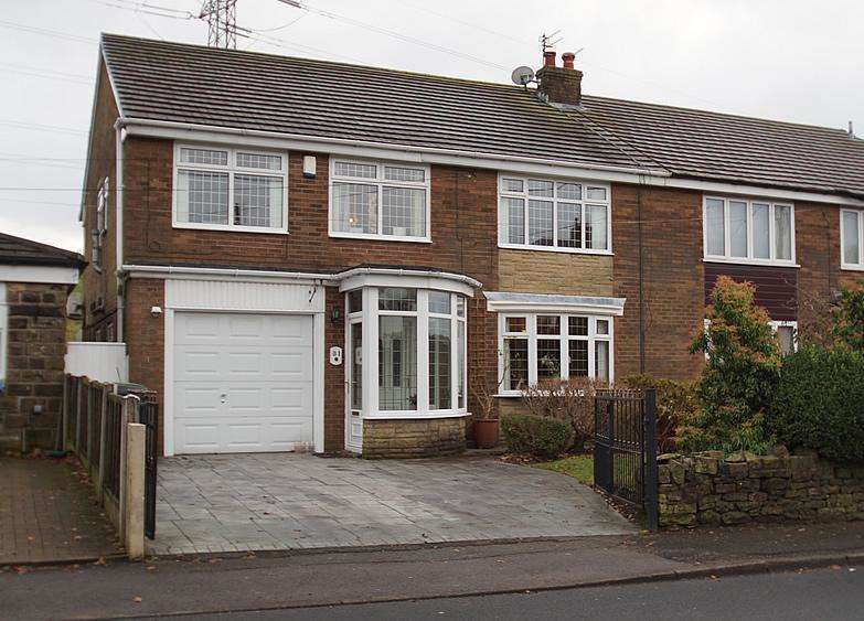 4 Bedrooms Semi Detached House for sale in Coverhill Road, Grotton OL4