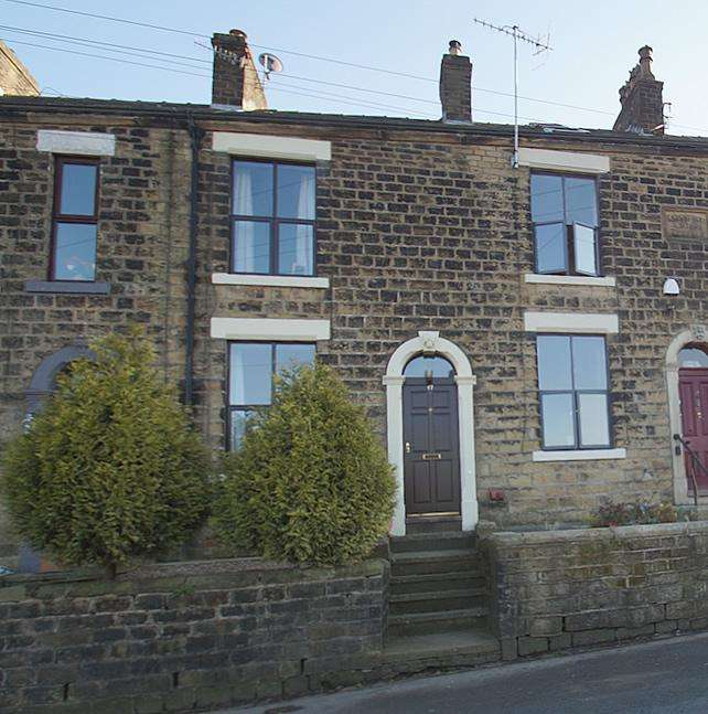 3 Bedrooms Terraced House for sale in Grains Road, Delph OL3