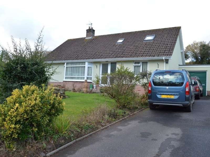 4 Bedrooms Detached Bungalow for sale in Brendon Close, Roadwater, Watchet TA23