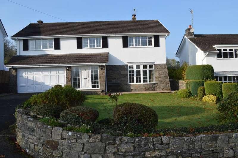 5 Bedrooms Detached House for sale in Llanmihangel Rise, Llanblethian, Cowbridge CF71