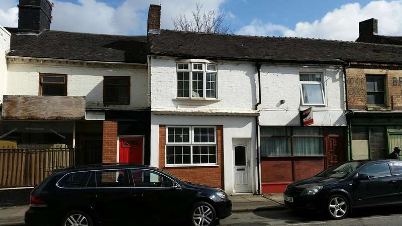 2 Bedrooms Terraced House for sale in Liverpool Road, Stoke, Stoke on Trentq ST4