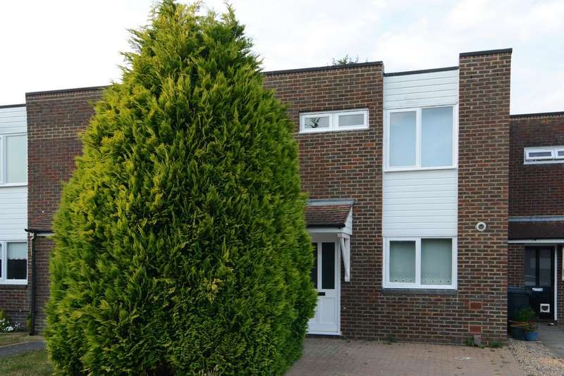 3 Bedrooms Terraced House for sale in Sycamore Court, Tringham Close, Ottershaw, Chertsey KT16