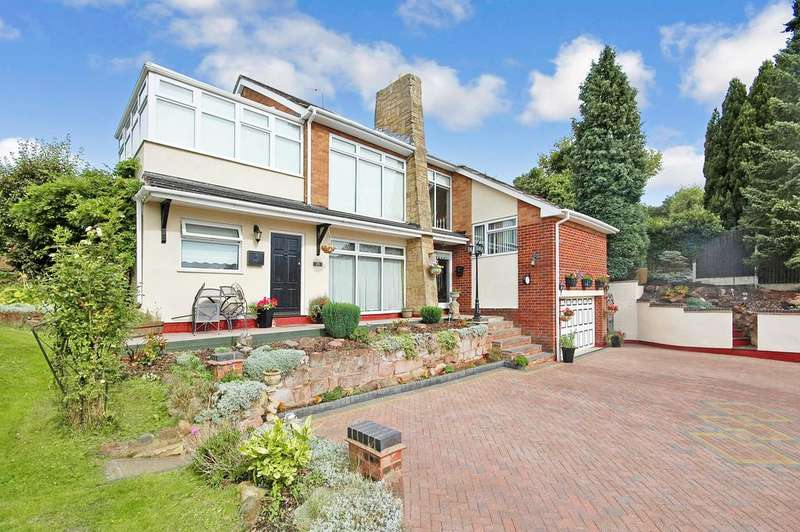 4 Bedrooms Detached House for sale in Vale Head Drive, Wightwick, Wolverhampton WV6