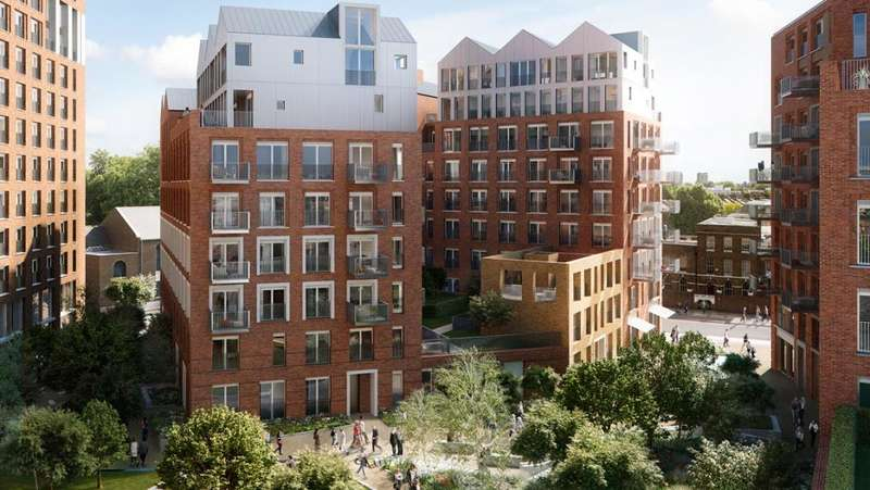 1 Bedroom Apartment Flat for sale in Keybridge House, London, SW8