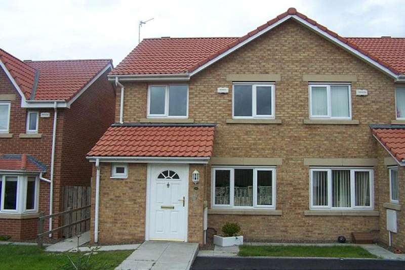 2 Bedrooms Semi Detached House for sale in Woodhorn Farm, Newbiggin, NE64 6AH