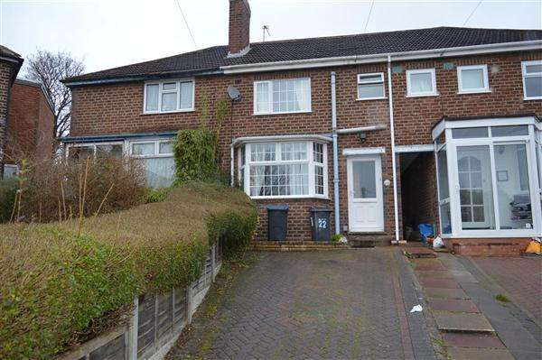 3 Bedrooms Terraced House for sale in Melcote Grove, Great Barr, Birmingham
