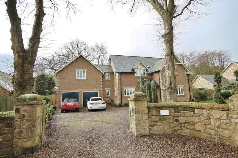 5 Bedrooms Detached House for sale in Lister Chase, Stable Drive, Eshott, Morpeth, Northumberland NE65
