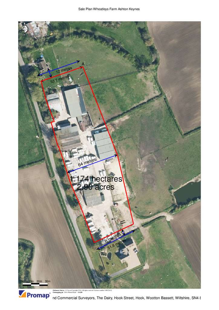 Land Commercial for sale in High Road, Ashton Keynes, Cricklade, Wiltshire SN6