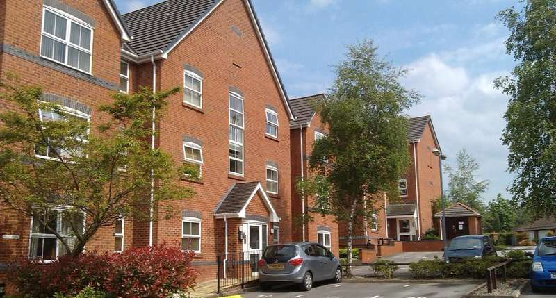 2 Bedrooms Apartment Flat for sale in Arley Court, Kingsmead